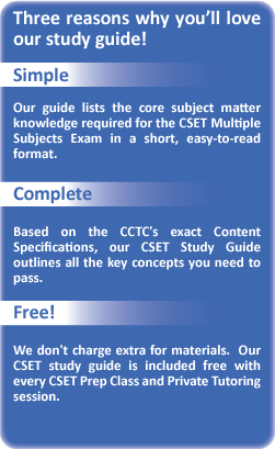 Cset multiple subjects subtest 1 test prep video (smart-stem.