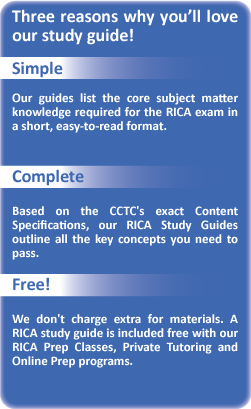 RICA Study Guide - Free Online | Teachers Test Prep